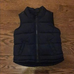 Navy Blue Old Navy Puffer Vest